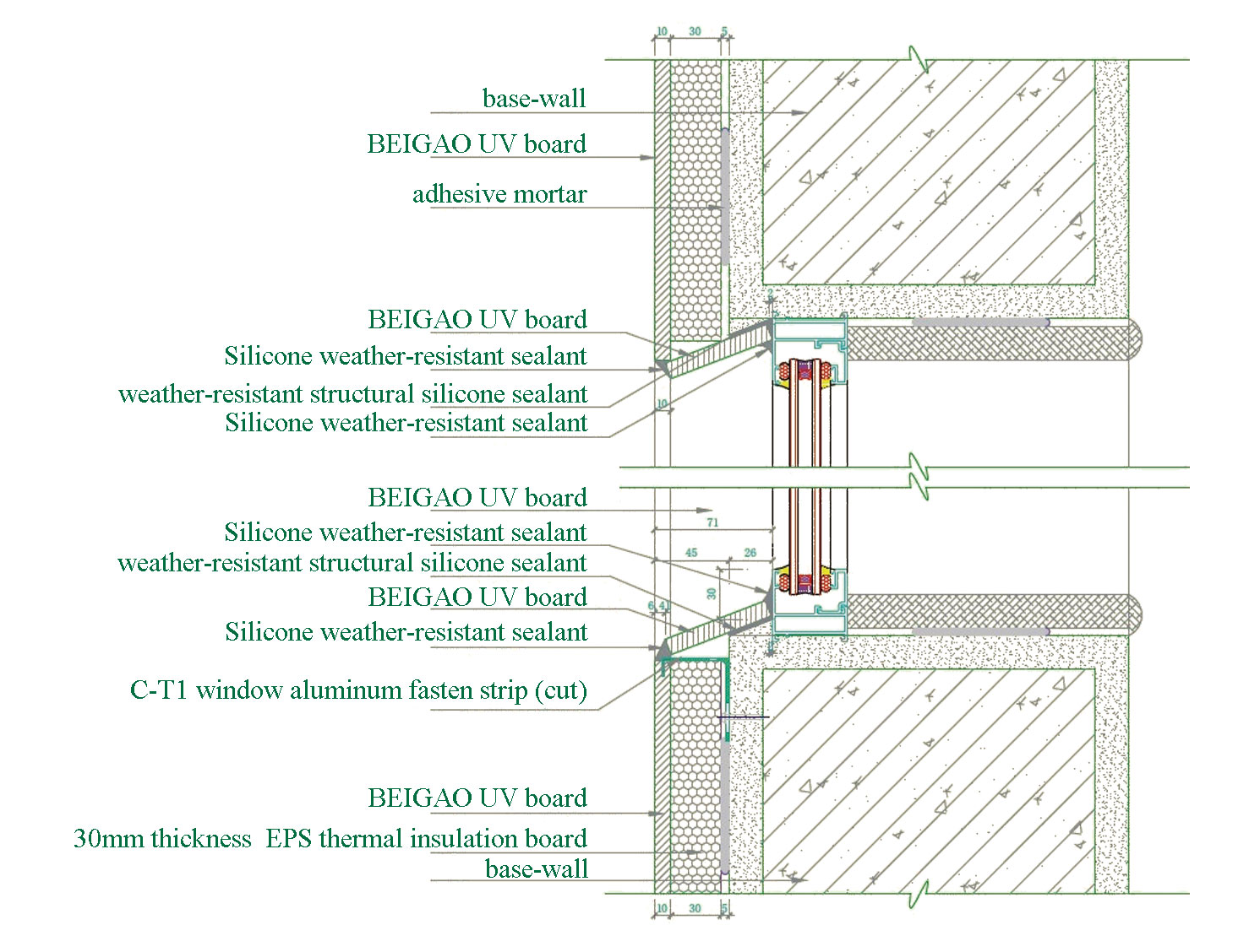 Curtain Wall Cladding Installations Product Introduction Beigao Decoration Materials Shanghai